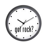 got rock? Wall Clock