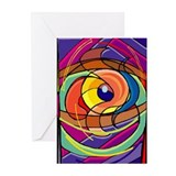 Colored Eye Greeting Cards (Pk of 10)