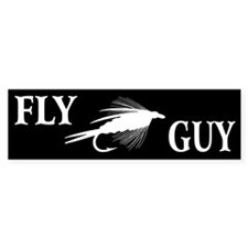FLY GUY - Bumper Sticker (10 pk)