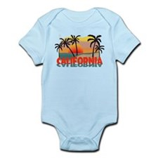 California Sunset Souvenir Infant Bodysuit