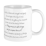 Proverbs 31 mom Small Mug