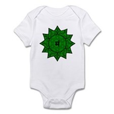 Heart Chakra Mandala Infant Bodysuit