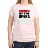 Phantom of the Opera Women's Pink T-Shirt