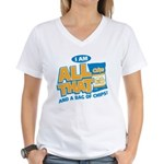 All That Women's V-Neck T-Shirt