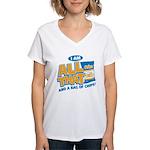 All That Women's V-Neck T-Shirt