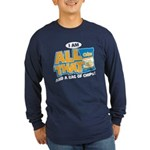 All That Long Sleeve Dark T-Shirt
