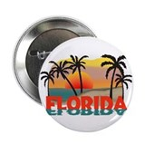 Florida Sunrise Souvenir 2.25&quot; Button (10 pack)