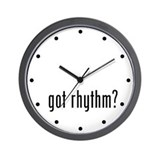got rhythm? Wall Clock