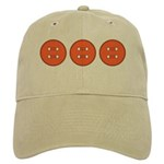 Orange Buttons Cap