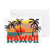 Hawaiian / Hawaii Souvenir Greeting Cards (Pk of 1