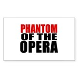 Phantom of the Opera Rectangle Decal