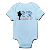 Unique Military navy Infant Bodysuit