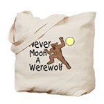 Moon A Werewolf Tote Bag