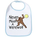 Moon A Werewolf Bib
