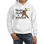 Moon A Werewolf Hooded Sweatshirt