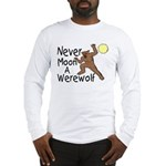 Moon A Werewolf Long Sleeve T-Shirt