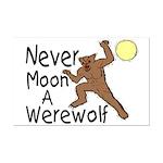 Moon A Werewolf Mini Poster Print