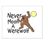 Moon A Werewolf Small Poster