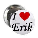 "I Heart Erik 2.25"" Button (10 pack)"