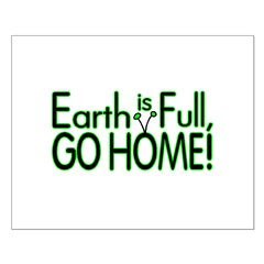 Earth Is Full Posters