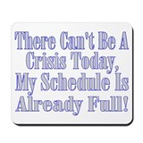 Full Schedule Mousepad