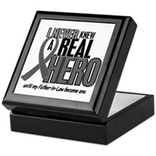 Never Knew A Hero 2 Grey (Father-In-Law) Keepsake
