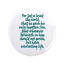 "John 3:16 English 3.5"" Button"