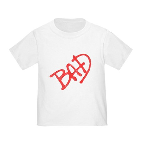 Bad (vintage) Toddler T-Shirt