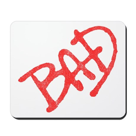 Bad (vintage) Mousepad