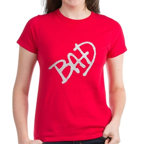 Bad (vintage) Womens T-Shirt