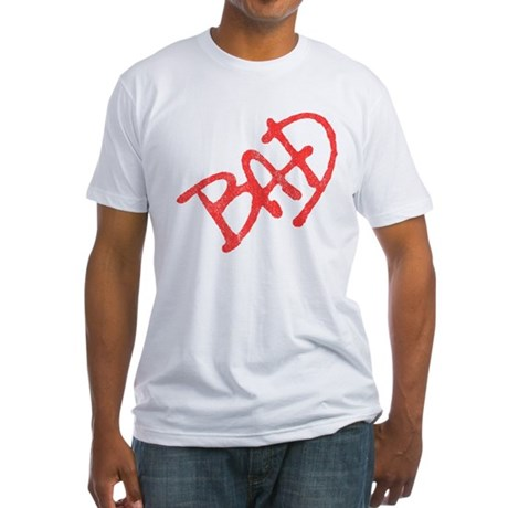 Bad (vintage) Fitted T-Shirt