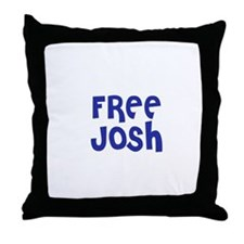 Free Josh Throw Pillow