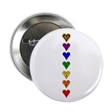 "Chakra Heart Line 2.25"" Button (10 pack)"