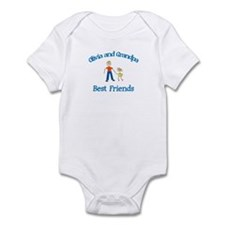 Olivia & Grandpa - Best Frien Infant Bodysuit