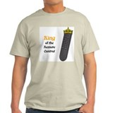 Remote Control King Ash Grey T-Shirt