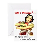 Am I Proud! Greeting Card