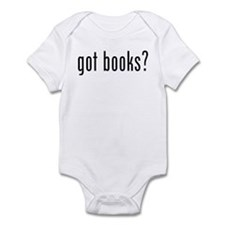 got books? Infant Bodysuit