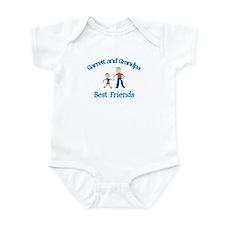 Garrett & Grandpa - Best Frie Infant Bodysuit