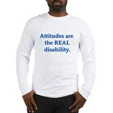 Real Disability Long Sleeve T-Shirt