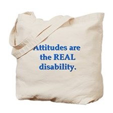 Real Disability Tote Bag