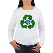 Reduce Reuse Recycle - Earth T-Shirt