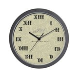 Vanderdark Family Wall Clock