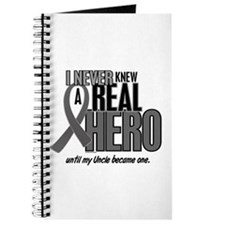 Never Knew A Hero 2 Grey (Uncle) Journal