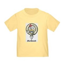 Cute Clan macdonald crest T