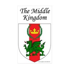 Middle Kingdom Rectangle Sticker 50 pk)