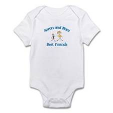 Aaron and Mom - Best Friends Infant Bodysuit