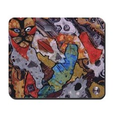Stray Cat Strut Cut Mousepad