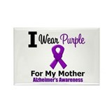 Alzheimer's (Mother) Rectangle Magnet