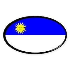Atenveldt Ensign Oval Sticker (50 pk)