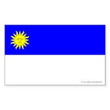 Atenveldt Ensign Rectangle Sticker (50 pk)